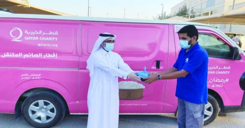 CNA-Q provides 350 Iftar meals to its employees on campus