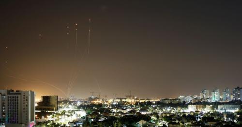 Gaza's Hamas militants fire 130 rockets towards Tel Aviv - Hamas statement