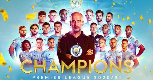 Man City crowned 2020-21 Premier League champions