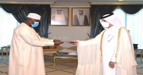 Minister of State for Foreign Affairs receives copy of credentials of Equatorial Guinea's Ambassador
