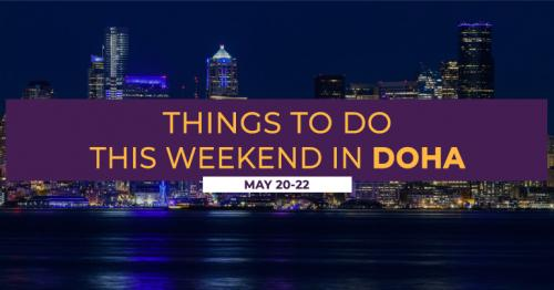 Things to do this weekend - May 20 to 22, 2021