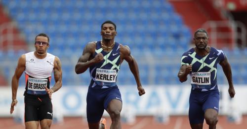 Kerley underlines his 100m credentials