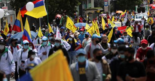 Dozens of Colombian roads still blocked amid anti-government protests
