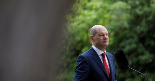 Germany's Scholz proposes