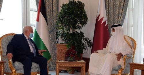 Abbas thanks Qatar Amir, Qatar for support to Palestinian people