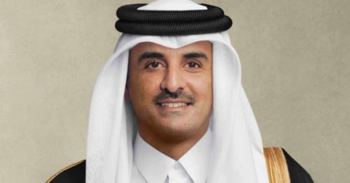 HH the Amir sends written message to President of French Republic