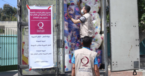 Qatar Charity Continues to Carry out Relief Projects for the Affected in Gaza
