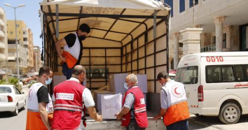 QRCS Office in Gaza Resumes Work