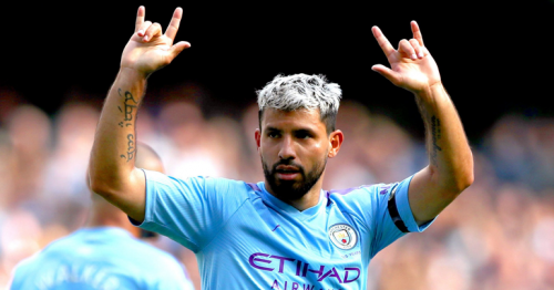 Aguero ends Manchester City career in style before title party