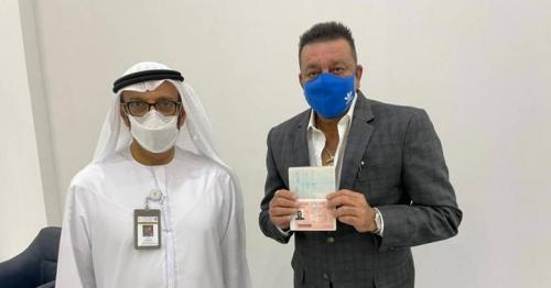 Bollywood actor Sanjay Dutt gets UAE Golden Visa