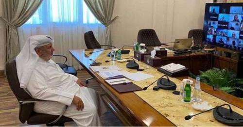 Shura Council takes part in ASG-IUP virtual meeting