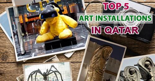 Qatar art installations, Arts in Qatar, Best Arts in Doha, Best attractions in Qatar, Qatar tourism, Qatar culture