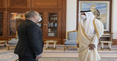 HH the Amir receives PM of Tunisia