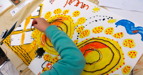 VCUarts Qatar's new children's program aims to boost critical thinking and communication skills.