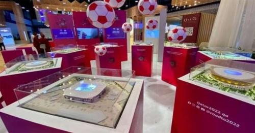 Qatar showcases FIFA World Cup preparations during SPIEF