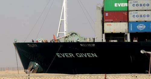 Suez Canal controlled speed of ship before it blocked waterway, insurer says