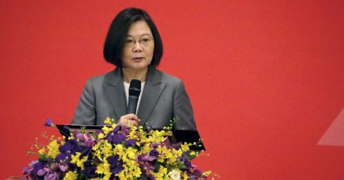 Taiwan will never forget China's Tiananmen crackdown, says president