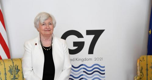 Amazon and Facebook to fall under new G7 tax rules - Yellen