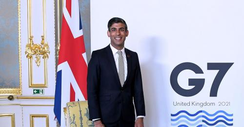 G7 tax agreement provides level playing field-UK's Sunak says