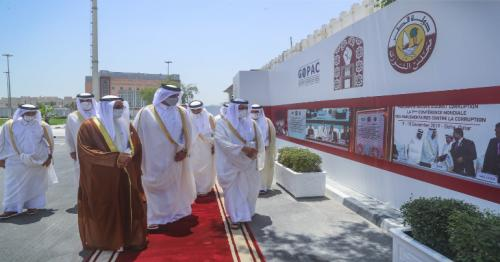 Shura Council Speaker and Global Organization of Parliamentarians Chairman inaugurates General Secretariat Office