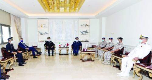 Chief of Staff and Italian counterpart meets in Qatar