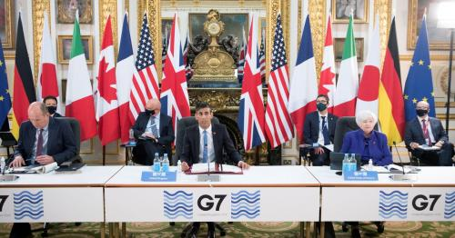 Anti-poverty groups criticise rich countries over G7 tax deal