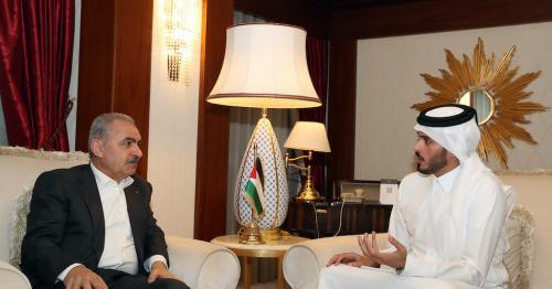 Palestinian PM to QNA: Qatar Provides Fundamental Political, Moral, Financial Support for Palestinian Cause