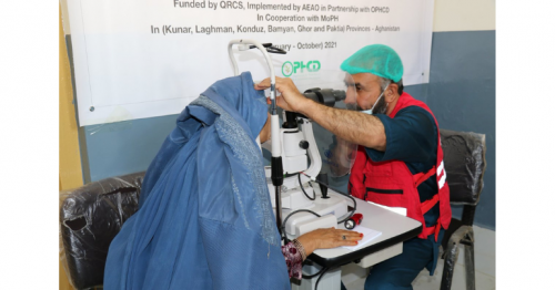 QRCS Launches Cataract Surgery Initiative for 1,300 Patients in Afghanistan