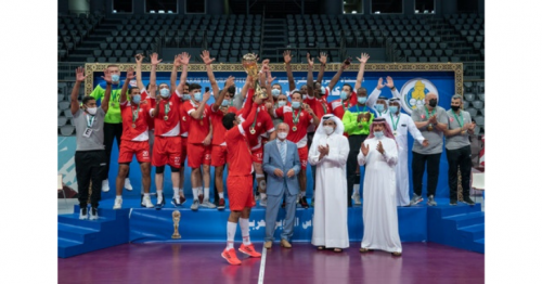 Sheikh Joaan Crowns Al Shamal Champions of Third Arab Super Cup for Handball