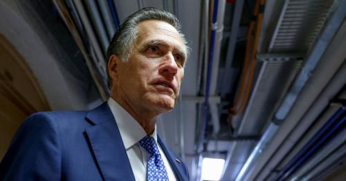 Republican U.S. Senator Romney says bipartisan infrastructure plan would not raise taxes