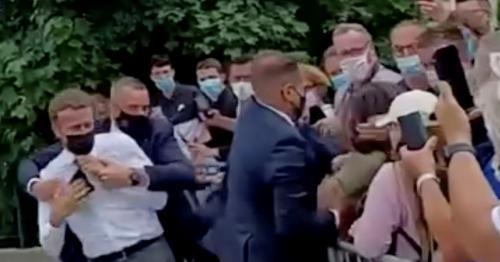 Man held over Macron slap was medieval swordsmanship fan
