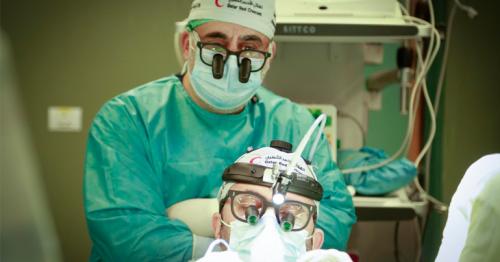 QRCS Sponsors Surgeries for Poor Patients in Gaza