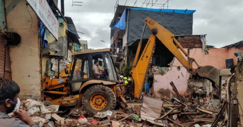 11 Dead, Including 8 Children, As Building Collapses On Another In Mumbai