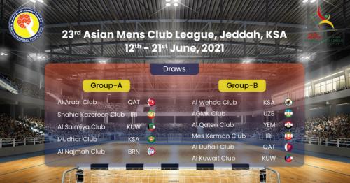 Al-Arabi, Al-Duhail teams to leave for 23rd Asian Championship