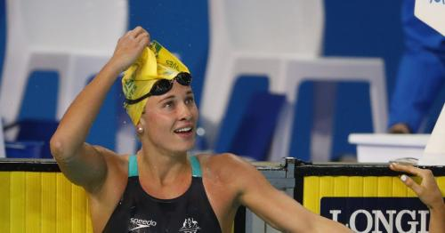 Australian swimmer Groves pulls out of Games trials, citing 'perverts'
