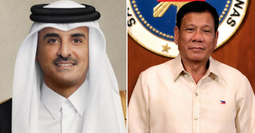 Qatar's Amir sends congratulations to President of the Philippines