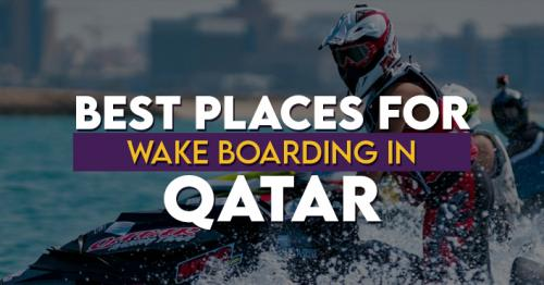 Best Places for Wake Boarding in Qatar