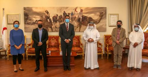 QRCS Strengthens Humanitarian Ties with ICRC