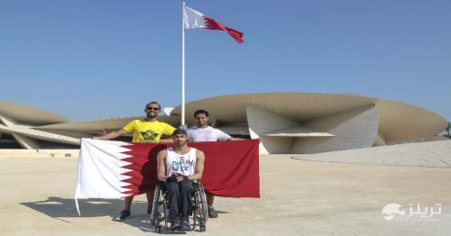 Qatar's Al Shahrani creates new record crossing 204 km in wheelchair