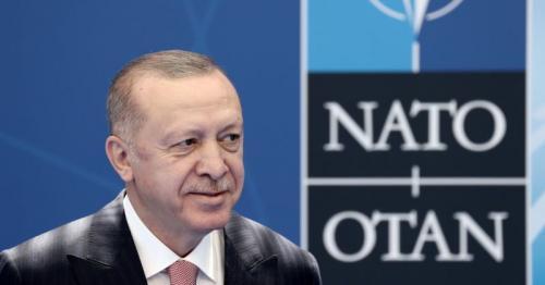 Erdogan, at NATO meet, praises revival of Turkey-Greece dialogue