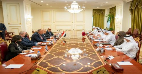 Qatar, Egypt highlights regional security and joint cooperation