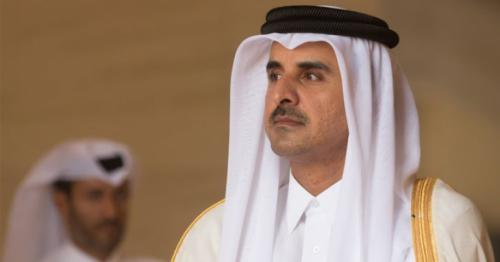 HH the Amir receives written message from President of Egypt