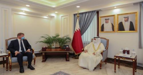 Shura Council Speaker meets Chairperson of Parliamentary Assembly of Mediterranean,
