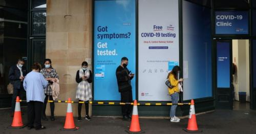 Sydney records first local COVID-19 case in more than a month