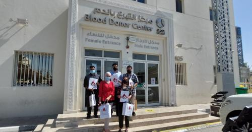 360 Nautica employees donate blood on World Blood Donor Day