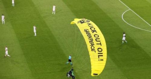 Euro 2020 - France 1-0 Germany: Several in hospital after parachute protest