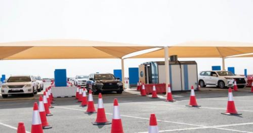 Changes in operating hours implemented for drive-through test centers