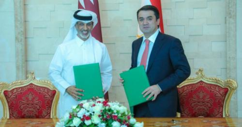 QFA, Tajikistan Football Association Sign Agreement of long-term relations of joint cooperation