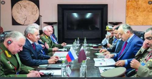Defence Minister and Russian Counterpart Reviews Bilateral Relations
