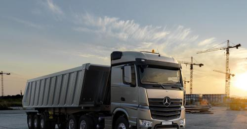 Available now at NBK Automobiles: The all-new Mercedes-Benz Actros and Arocs: reliable, efficient and robust